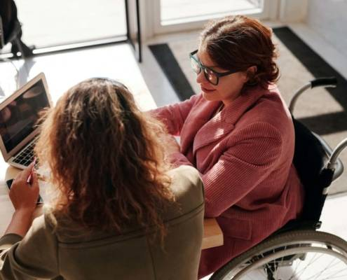 NDIS Plan Management Options - grandmother and woman
